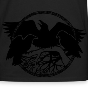 Raven Art Shirt Baby Raven Spirit Animal T-shirt - Men's Premium Long Sleeve T-Shirt