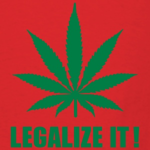 Marijuana Legalize it Bags & backpacks - Men's T-Shirt