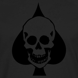 Skull Spade T-Shirts - Men's Premium Long Sleeve T-Shirt