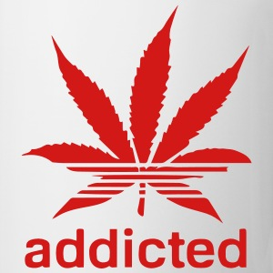 WEED ADDICTED T-Shirts - Coffee/Tea Mug