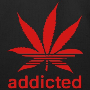 WEED ADDICTED Long Sleeve Shirts - Eco-Friendly Cotton Tote