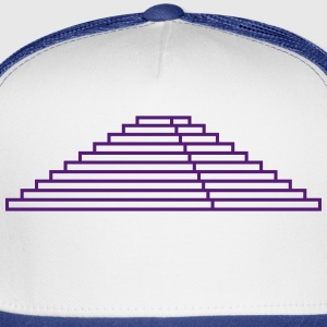 Maya,step pyramid,stages,pyramid,building,temple Women's T-Shirts - Trucker Cap