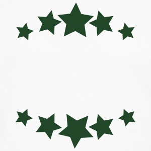 Stars, sheet, text box, circle, emblem, wreath T-Shirts - Men's Premium Long Sleeve T-Shirt