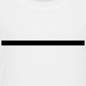 Line, thick, underlined, underlines, straight Kids' Shirts - Toddler Premium T-Shirt
