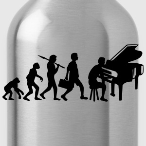 Piano Music Evolution Women's T-Shirts - Water Bottle