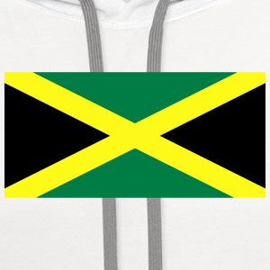 Flag of Jamaica T-Shirts - Contrast Hoodie