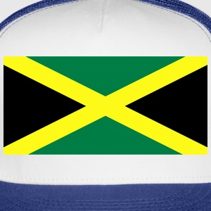 Flag of Jamaica T-Shirts - Trucker Cap