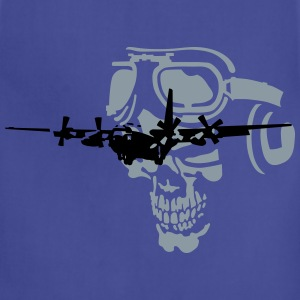 skull pilot T-Shirts - Adjustable Apron