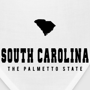 South Carolina Shape T-Shirts - Bandana