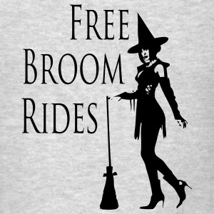 Free Broom Rides Hoodies - Men's T-Shirt