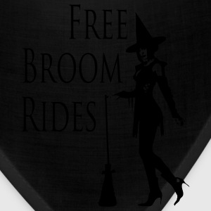 Free Broom Rides Women's T-Shirts - Bandana