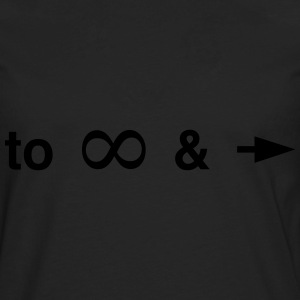 To infinity and beyond T-Shirts - Men's Premium Long Sleeve T-Shirt