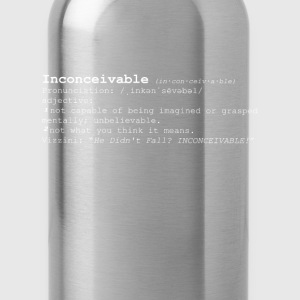 INCONCEIVABLE - Water Bottle