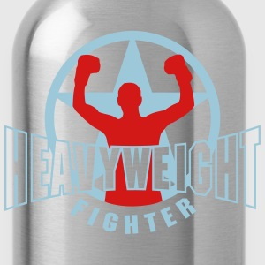 heavyweight fighter T-Shirts - Water Bottle