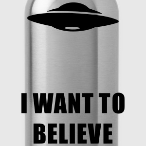 I want to believe Women's T-Shirts - Water Bottle