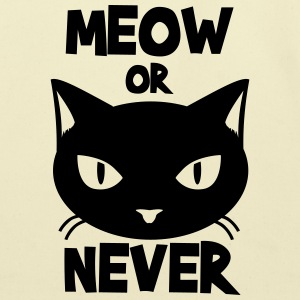 Meow or never Tanks - Eco-Friendly Cotton Tote