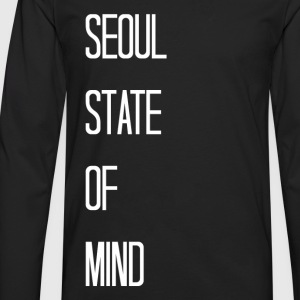 BTS - Seoul State of Mind Women's T-Shirts - Men's Premium Long Sleeve T-Shirt