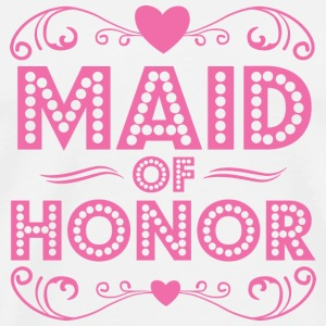 Maid of Honor Buttons - Men's Premium T-Shirt