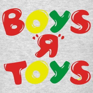 Boys R Toys Long Sleeve Shirts - Men's T-Shirt