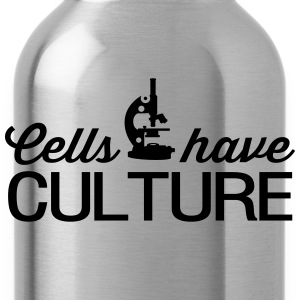 Cells have Culture T-Shirts - Water Bottle
