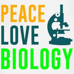 Peace Love Biology Women's T-Shirts - Adjustable Apron