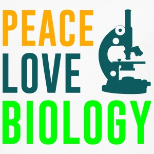Peace Love Biology Women's T-Shirts - Men's Premium Long Sleeve T-Shirt