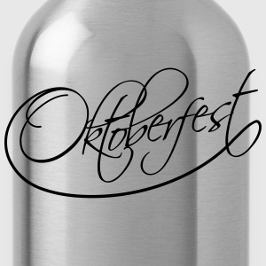 Oktoberfest Text Logo T-Shirts - Water Bottle