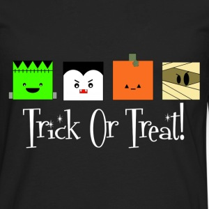 Trick or Treat Monsters - Men's Premium Long Sleeve T-Shirt