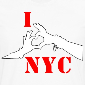 I LOVE NYC - Men's Premium Long Sleeve T-Shirt