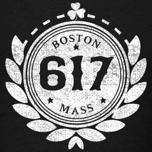 617 Boston People Hoodies - Men's T-Shirt