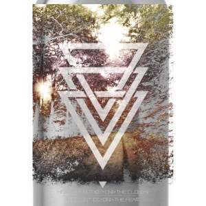 mystic forest triangles Tanks - Water Bottle