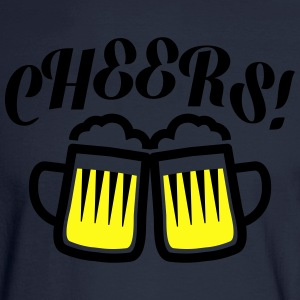 cheers T-Shirts - Men's Long Sleeve T-Shirt