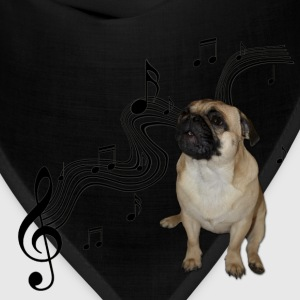 Music Pug with sheet music Bags & backpacks - Bandana