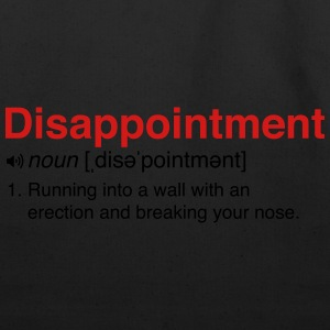 Disappointment Definition Women's T-Shirts - Eco-Friendly Cotton Tote
