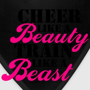 Cheer Beauty Beast Tanks - Bandana