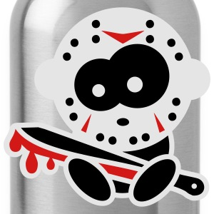 Crazy Halloween Kids: Jason T-Shirts - Water Bottle