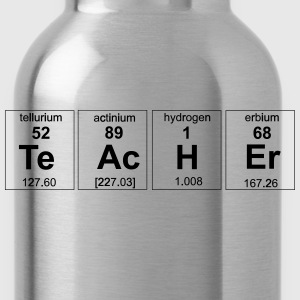 Periodic Table Teacher Elements T-Shirts - Water Bottle