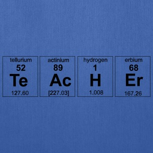 Periodic Table Teacher Elements Women's T-Shirts - Tote Bag