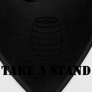 Take a Stand (Keg Stand) Women's T-Shirts - Bandana