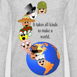 makeaworld T-Shirts - Men's Premium Long Sleeve T-Shirt