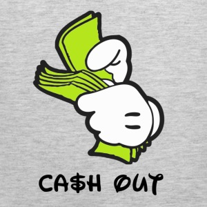 cash out Long Sleeve Shirts - Men's Premium Tank