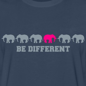 Elephants Be Different T-Shirts - Men's Premium Long Sleeve T-Shirt