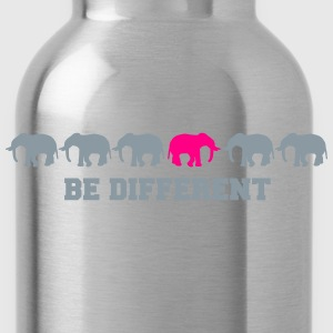 Elephants Be Different Women's T-Shirts - Water Bottle