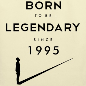 Born to be Legendary T-Shirts - Eco-Friendly Cotton Tote