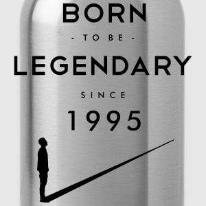 Born to be Legendary T-Shirts - Water Bottle
