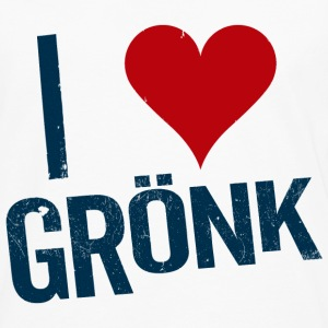 I Heart Gronk Women's T-Shirts - Men's Premium Long Sleeve T-Shirt