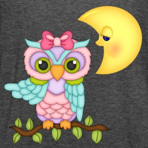 Girl Owl T-Shirts - Women's Flowy Tank Top by Bella