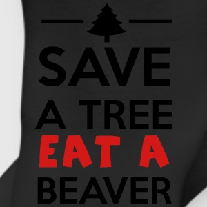 Forest and Animal - Save a tree eat a Beaver T-Shirts - Leggings