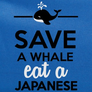 Dining - Save a whale eat a Japanese T-Shirts - Computer Backpack