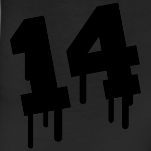 Number 14 Graffiti T-Shirts - Leggings